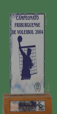 CAMPEONATO FRIBURGUENSE DE VOLEIBOL 2004