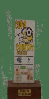 COPA COUNTRY 2002 SEGUNDO LUGAR 2009