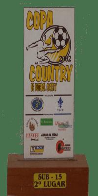 COPA COUNTRY 2002 SUB 15- SEGUNDO LUGAR