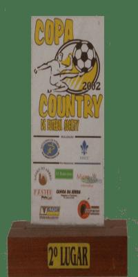 COPA COUNTRY DE FUTEBOL SOCIETY SEGUNDA 2002