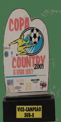 COPA COUNTRY DE FUTEBOL SOCIETY VICE CAMPEÃO SUB 8