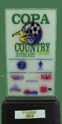 COPA COUTRY DE FUTEBOL SOCIETY- PRIMEIRO LUGAR- 2006