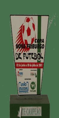COPA FRIBURGO VICE CAMPEÃO 2001