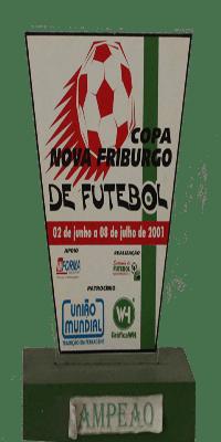 COPA NOVA FRIBURGO 2001 CAMPEÃO