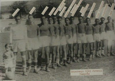 ESPERANÇA F.C 1943 3 QUADRO