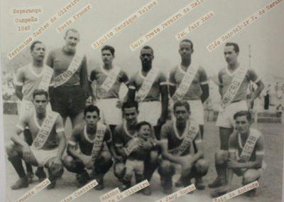 ESPERANÇA F.C 1948 CAMPEÃO