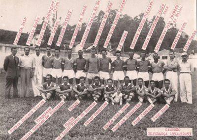 ESPERANÇA F.C 1951,52 E 53
