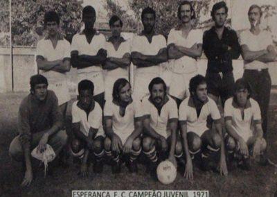 ESPERANÇA F.C 1971 CAMPEÃO JUVENIL