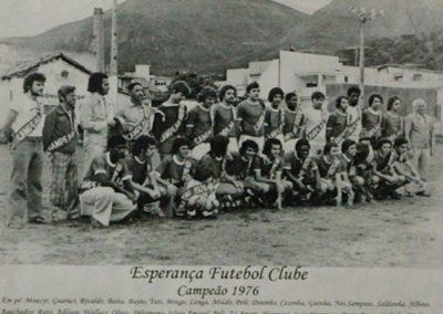 ESPERANÇA F.C CAMPÃO 1976