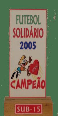 FRIBURGO X FILÓ FUTEBOL SOLIDÁRIO 2005 CAMPEÃO SUB 13