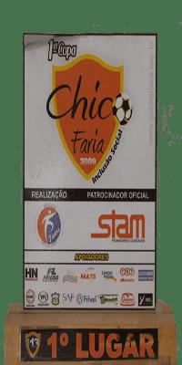 PRIMEIRA COPA CHICO FARIA PRIMEIRO LUGAR