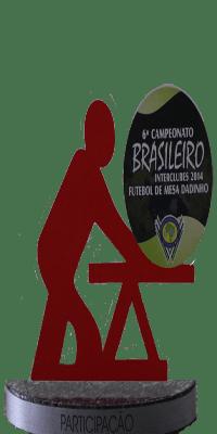 SEXTO CAMPEONATO BRASILEIRO DE FUTEBOL DE MESA- 2014- PARTICIPAÇÃO