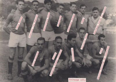 FRIBURGO F.C 1953