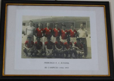 FRIBURGO F.C 1954 E 1955
