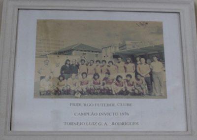 FRIBURGO F.C 1976 CAMPEÃO INVICTO