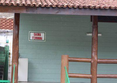 Acesso sauna feminina