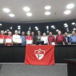 Saudações e lembranças ao Friburgo Futebol Clube