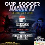 Nova Friburgo conquista segundo lugar na Cup Soccer Macacu