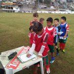 Sete gols marcam terceira rodada do Campeonato Interno Sub 9