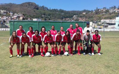 Valeu a luta: Nova Friburgo tropeça e encerra participação no Municipal Feminino  Os gols da equipe rubro-verde foram marcados por Livia Silva (duas vezes)