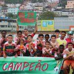 RETROSPECTIVA: Rubro-verde conquistou bicampeonato Campeonato Municipal Sub 13