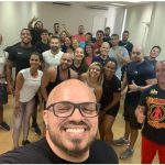 Thiago Martins participa de curso obrigatório para profissionais de Educação Física