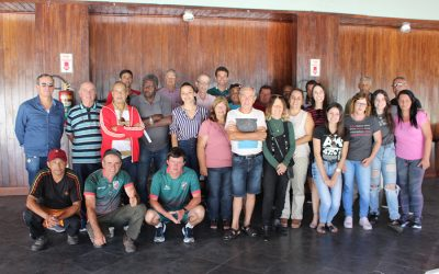 Conselho Diretor realiza reunião no Parque Aquático  Atividade contou com a presença de diretores e colaboradores do Centro, Departamento de Futebol e Social