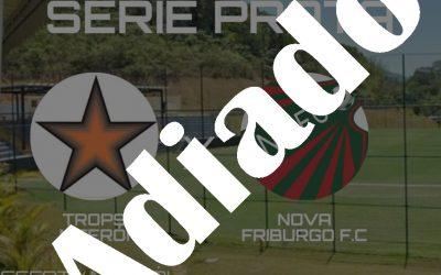 ATENÇÃO: Campeonato Metropolitano tem início adiado  Decisão foi anunciada na noite por medida preventiva ao Coronavirus