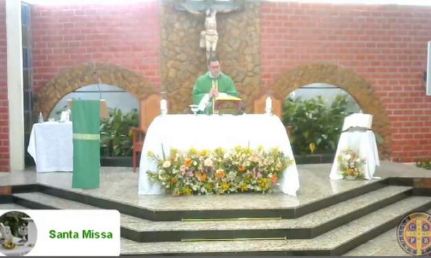 <h1>Missa marca os 41 anos do Nova Friburgo Futebol Clube </h1> <h>Celebração Eucarística foi realizada na Paróquia de São Bento Abade, no bairro Ypu</h>