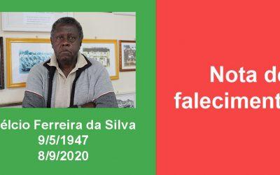 NOTA DE FALECIMENTO: Hélcio Ferreira da Silva