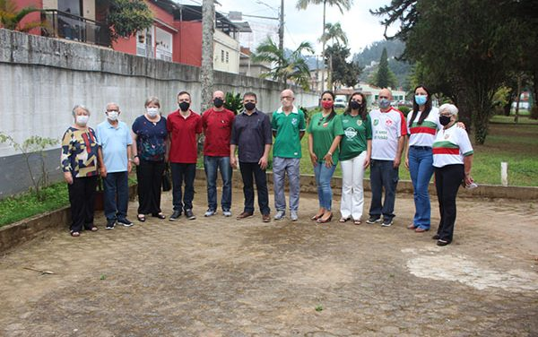 <h1>FutMesa do Nova Friburgo F.C inaugura salas Chiminga e Paulo Maduro </h1> <h>Evento contou com a presença de dirigentes, convidados e familiares</h>